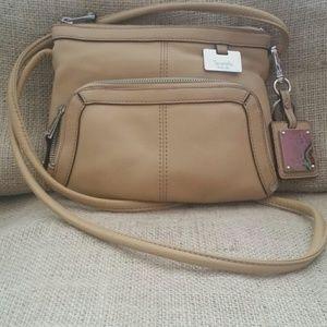 TINGNANELLO Leather crossbody bag